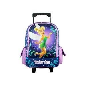 Disney Tinker Bell Rolling Backpack   Full size School