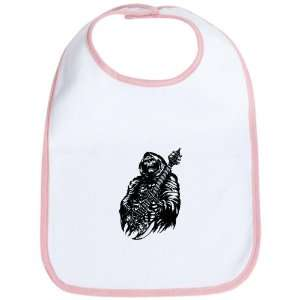 Bib Petal Pink Grim Reaper Heavy Metal Rock Player