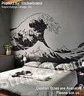 Vinyl Wall Decal Sticker Japanese Great Wave Hokusai LG