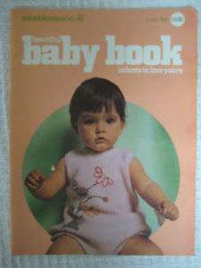 VTG 60s Columbia Minerva BABY BOOK Crochet Knit Pattern