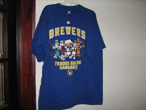 Milwaukee Brewers Sausage Race T Shirt (Adult)