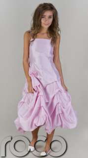 CHEAP PROM DRESSES GIRLS BRIDESMAID WEDDING PINK PARTY DRESS AGE 2
