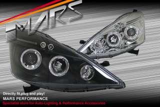 Honda Jazz Fit GE Angel Eyes Projector HeadLight Head Lights 08 11 VTi