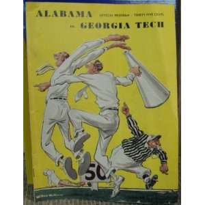 November 12th 1949 University of Alabama Crimson Tide