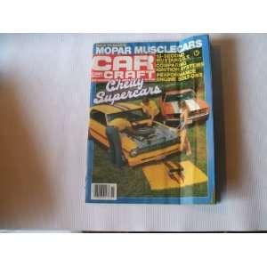 Car Craft November 1982 (CHEVY SUPERCARS, 13 SECOND