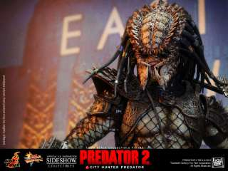 Hot Toys 1/6 Predator 2  City Hunter Predator HOT TOYS FIGUREFREE