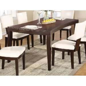 Wyman Moder Wood Leg Dining Table   Warm Espresso By