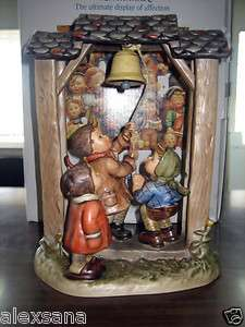 HUM #487 LET'S TELL THE WORLD TM6 HUMMEL FIGURINE CENTURY COLLECTION