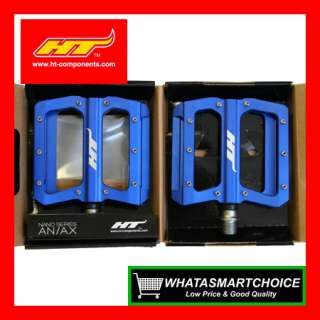 NEW AN01 BLUE Mountain & BMX Bicycle Bike Pedals