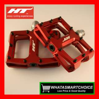 NEW AX08 RED Mountain & BMX Bicycle Bike Pedals