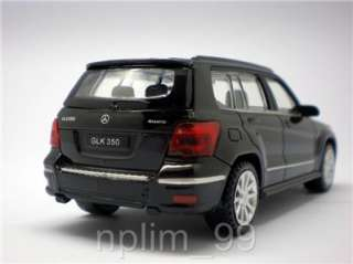 RASTAR 1/43 Diecast Car MERCEDES BENZ GLK 350 Black NEW