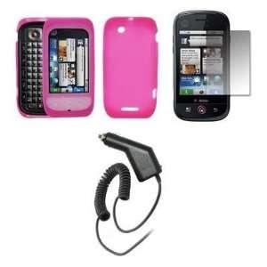 Premium Hot Pink Soft Silicone Gel Skin Cover Case