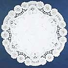 NEW LOT 24 BROOKLACE FANCY LACE 5 PASTEL PINK ROUND PAPER DOILIES