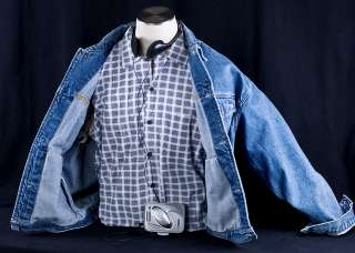 Back to the Future MARTY MCFLY Halloween Costume Vest Shirt Jacket