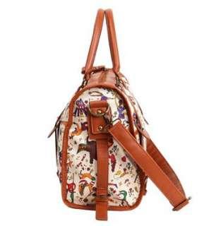 Circus Hobo Purse Shoulder Bag Handbag Tote Satchel MC2