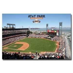AT&T Park, Home of the San Francisco Giants Baseball Team