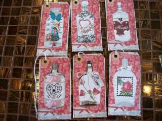 Love Potion #9 Valentine Tags Gift / Hang Tag's (441)