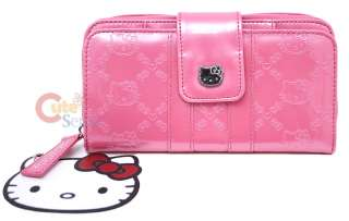 Sanrio Hello Kitty Embossed Wallet  Princess Pink  Loungefly