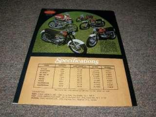 Jawa Brochure 250cc 500cc Moto Cross Tatran Sport 471