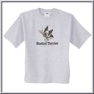 Funny Boston Terrier Jaws Of Death Shirt S 2X,3X,4X,5X