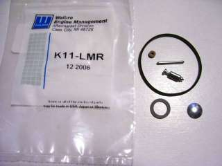 GENUINE WALBRO CARBURETOR REPAIR KIT K11 LMR LAWNBOY