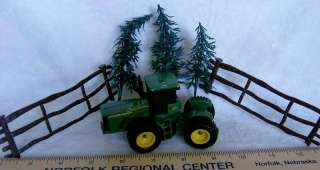 John Deere tractor fence trees CAKE TOPPER DECORATION