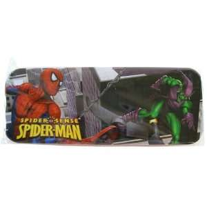 Marvel Spiderman Pencil Box   Spider man Tin Pencil Case: Toys & Games