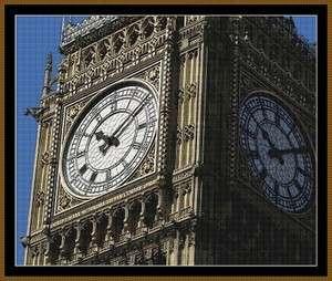Cross Stitch Chart   Big Ben   Landmark   London