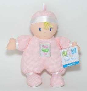 New Kids Preferred Pink Thermal Sweet Pea Plush Baby Doll