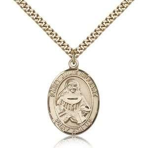 Genuine IceCarats Designer Jewelry Gift Gold Filled St. Julie Billiart