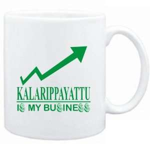 Mug White  Kalarippayattu  IS MY BUSINESS  Sports
