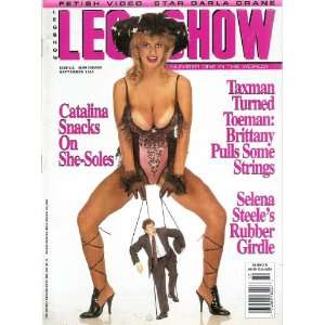 LEG SHOW MAGAZINE SEPTEMBER 1995: LEG SHOW: Books