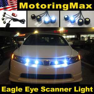 LED Eagle Eye Knight Night Rider Scanner Lighting DRL+ Remote