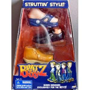 BRATZ BOY STRUTTIN STYLE 3 PAIRS OF SHOES Toys & Games