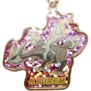 Pokemon BW2 Die Cast Kyurem Keychain Charm Takara Tomy