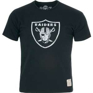 Retro Sport Oakland Raiders Short Sleeve T Shirt Large