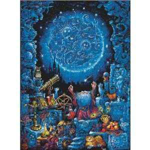 Glitter and Glow Astrologer Jigsaw Puzzle 100pc Toys