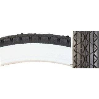Bicycle Tire (Wire Bead, 26 x 2.125, White Wall)