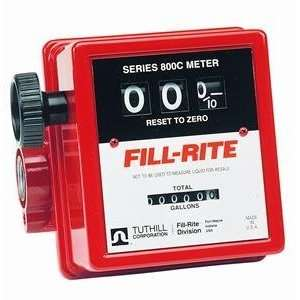 FR806 1 Npt Gravity Flow Fuel Meter w/Strainer