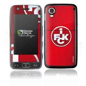 Design Skins for LG GT505   1. FCK Logo Design Folie