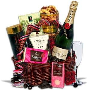 Of Indulgence   Valentines Day Gift Basket Grocery & Gourmet Food