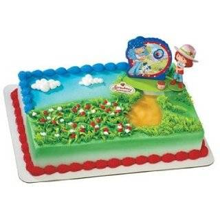 StrawBerry ShortCake Birthday Cake Edible Image Decoration: