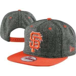 San Francisco Giants New Era A Frame Tweed Snapback Hat