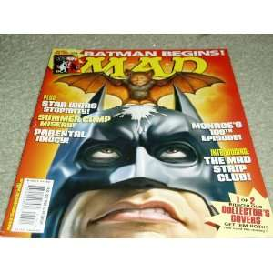 Mad Magazine Issue # 455 July 2005 Cover 2 of 2 E.C