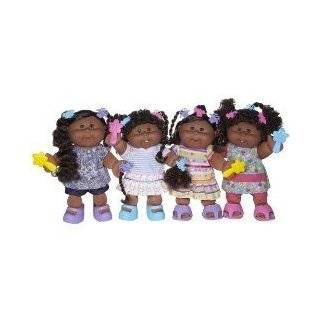 Style Cabbage Patch Kids Doll   African American Girl with Brown Hair