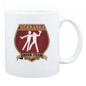 New  Nebraska Drink Team Sign   Drunks Shield  Mug State