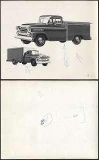 Photo 1959 Chevrolet Chevy Apache Work Truck 485481