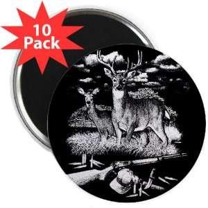 Magnet (10 Pack) Deer Hunting Buck Doe Rifle and Hat: Everything Else