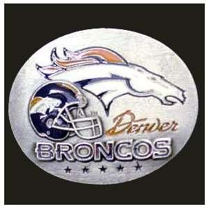 Denver Broncos 3 D Team Magnet   NFL Football Fan Shop Sports Team
