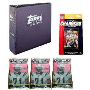 San Diego Chargers 2007 Topps NFL Team Gift Set  Sports